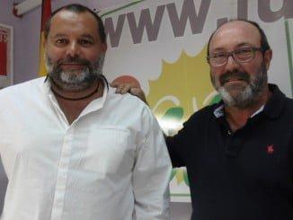 Rafael Sánchez Rufo y Pedro Jiménez