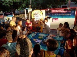 Uno de los talleres para niños