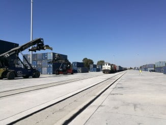 Terminal ferroviaria del Puerto de Huelva