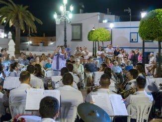 Concierto en Ayamonte durante las Fiestas Patronales