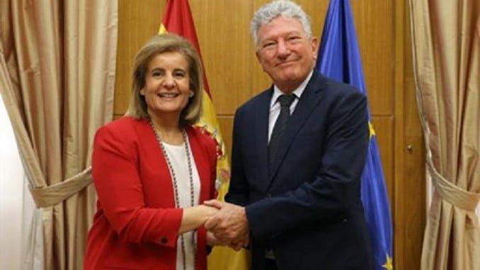 Báñez y Quevedo, tras acordar la constitución de la Mesa de Calidad del Empleo en la Hostelería