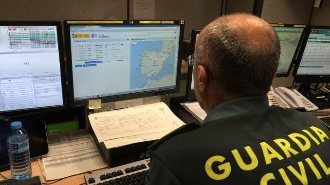Las llamadas de vecinos a la Central de la Guardia Civil fueron fundamentales para las dos detenciones