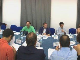 Primera reunión de la Comisión de Infraestructuras del Plan Estratégico de Huelva