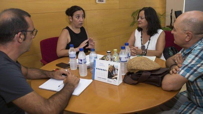 El Ayuntamiento contacta con entidades que trabajan en el ámbito de la cooperación internacional