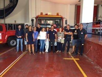 Los empresarios han recibido información sobre acciones básicas con las que prevenir incendios