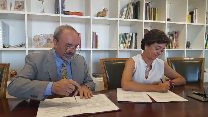 Firma del convenio de Desarrollo Rural