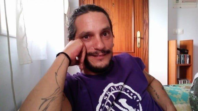 Un momento durante la entrevista con Iratxo en Huelva