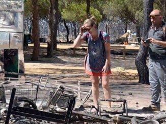 Los afectados por el incendio de Moguer pedirán a la carbonería indemnizaciones por los daños