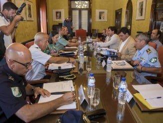 El alcalde y la subdelegada del Gobierno han presidido la Junta Local de Seguridad