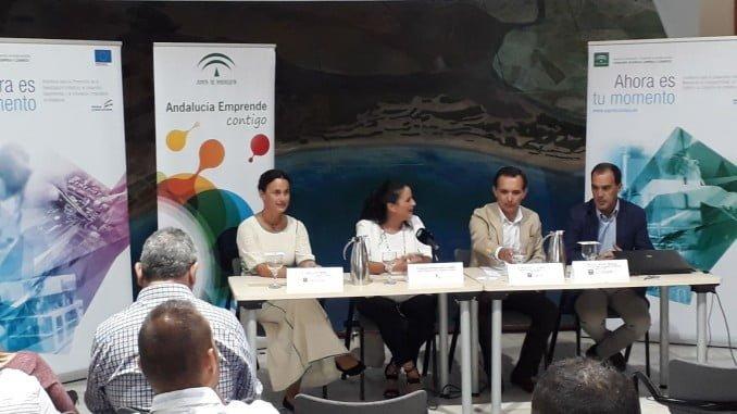 En Almonte Manuel Ceada ha presentado los incentivos a empresas