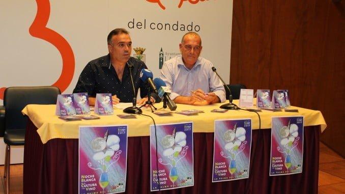 El alcalde, Manuel García Félix, en la presentación de 'La Noche Blanca de la Cultura y el Vino'