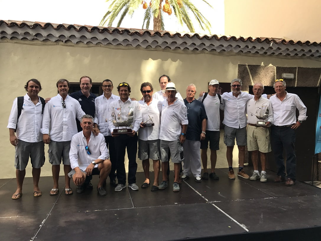 El exterior del Pozo de la Aguada ha recogido la entrega de trofeos de la Regata Oceánica