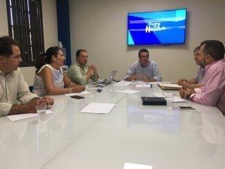 Manuel Andrés González ha  presidido la reunión del Comité de Dirección del PP onubense