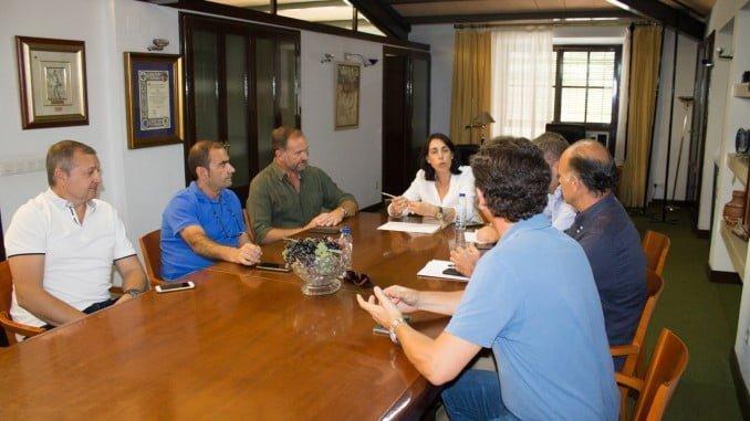 Reunión de Apyme Bollullos con la alcaldesa de la localidad