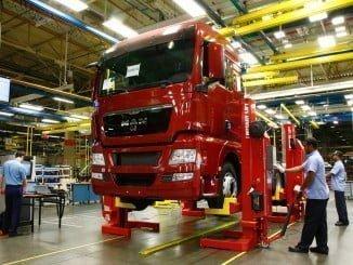 Entre enero y julio de 2017 las matriculaciones de vehículos industriales han alcanzado las 13.288 unidades, registrando un leve descenso del 0,1%
