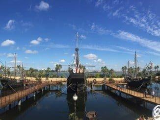 Diputación ha organizado diversas actividades en el Muelle de las Carabelas este 12 de Octubre