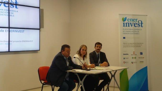 La diputada de Infraestructuras, Medio Ambiente y Planificación, Laura Martín, ha participado en este segundo evento nacional del proyecto Enerinvest.