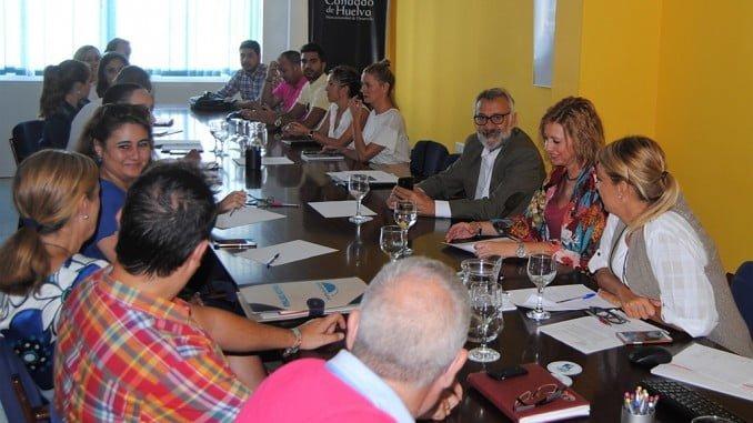 Reunión de los Ayuntamientos que forman la Mancomunidad del Condado.