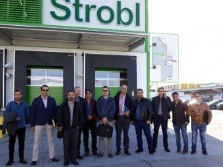 Representantes de las empresas que con Extenda han realizado la misión en Austria.