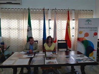 Inaugurada la Jornada de Empleo y Turismo en Arroyomolinos de León.
