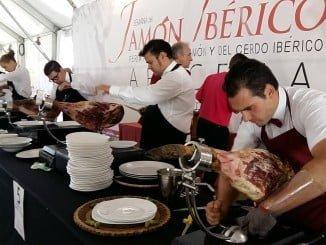 Vuelve el concurso de cortadores a la Feria del Jamón Ibérico de Aracena.