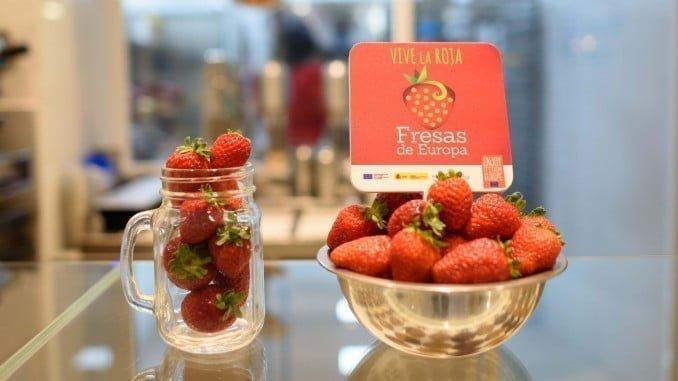 Fresas de Europa se suma a la conmemoración del Día Mundial de las Frutas y Verduras