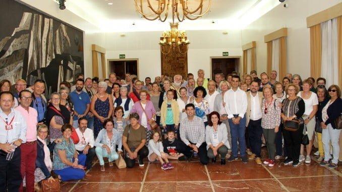 Representantes de tres países europeos, además de España, se dan cita en el intercambio intercultural de Valverde del Camino.
