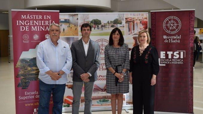 El master en ingeniería de minas, pionero en Andalucía, será coordinado por la Escuela Técnica Superior de Ingeniería de la UHU.