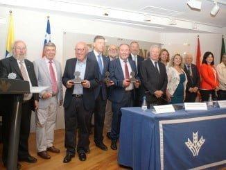 Imagen de la entrega de los Premios a la Cooperación Iberoamericana el año pasado