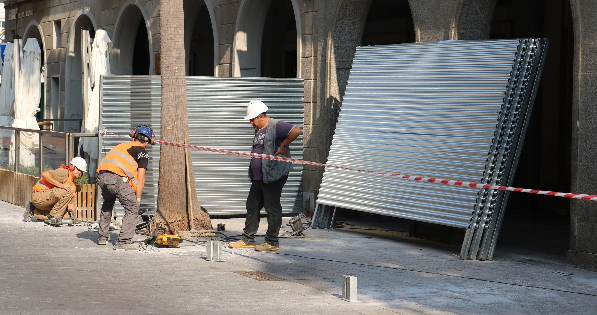 Obras en la Subdelegación del Gobierno de Huelva