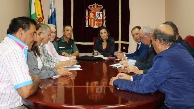 Reunión de seguridad en Subdelegación de Gobierno para abordar el robo de cobre en los campos