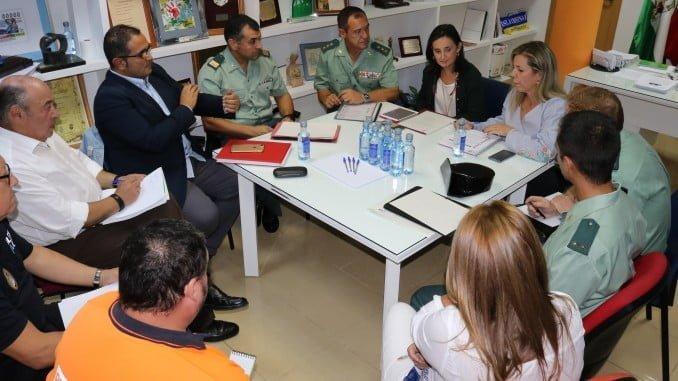 Reunión de la Junta Local de Seguridad en Isla Cristina