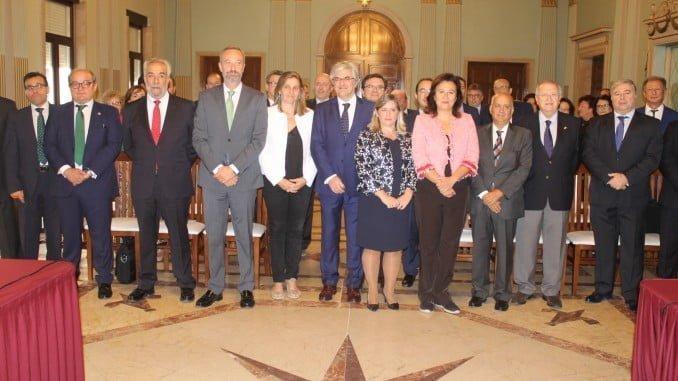 Hasta Huelva se han desplazado tanto la Junta de Gobierno, como la Comisión Permanente y los presidentes de los 43 Colegios Oficiales de Graduados Sociales integrados en el Consejo General