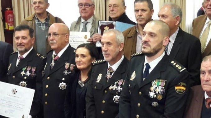 Asunción Grávalos en el 195 Aniversario de la Policía Nacional