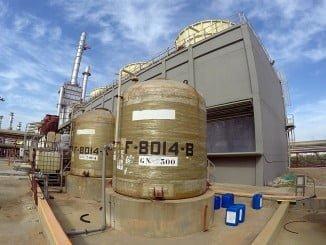 Instalaciones de la Planta Química de Palos de la Frontera, en Huelva