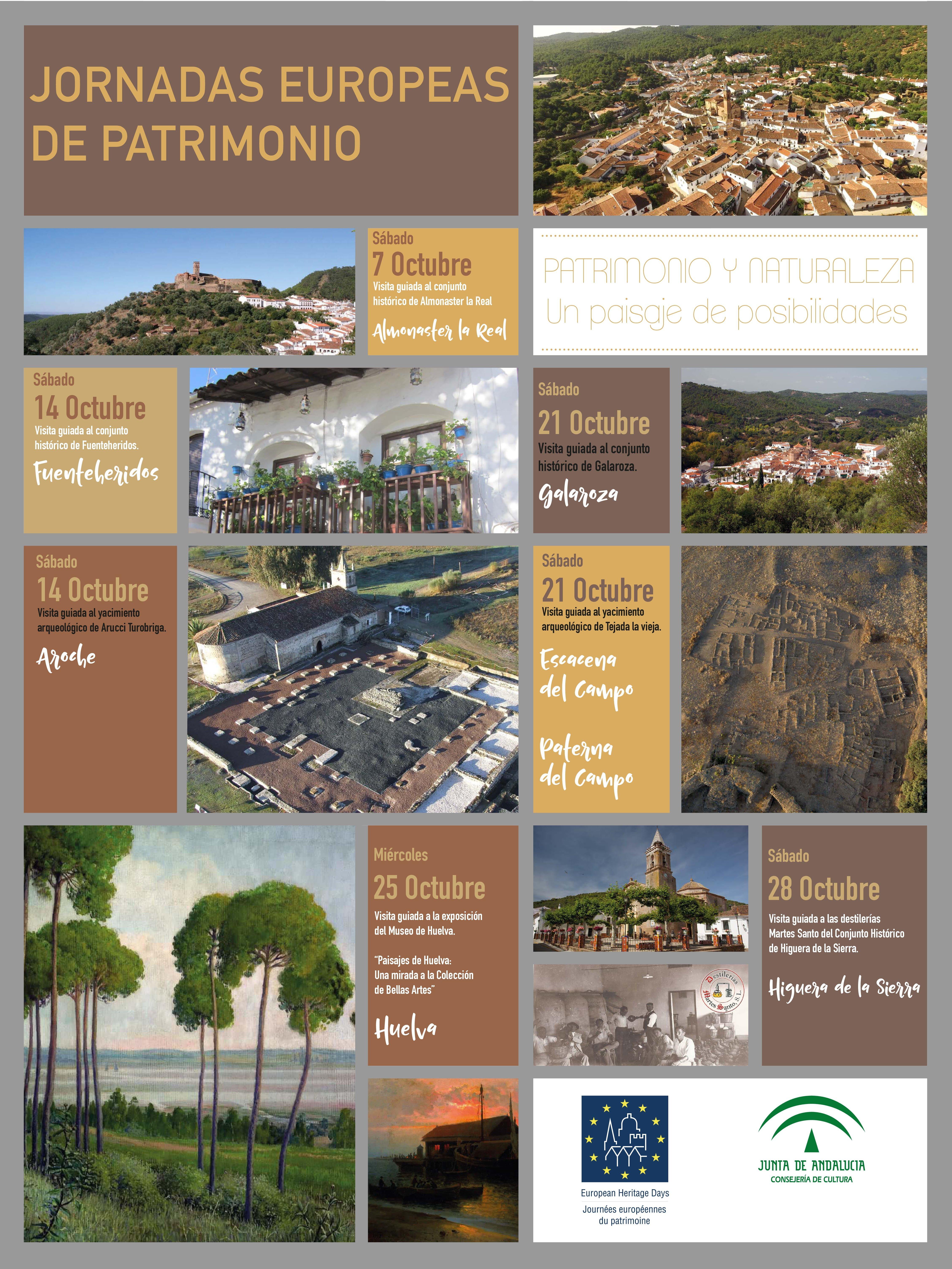 Cartel anunciador de las Jornadas Europeas de Patrimonio