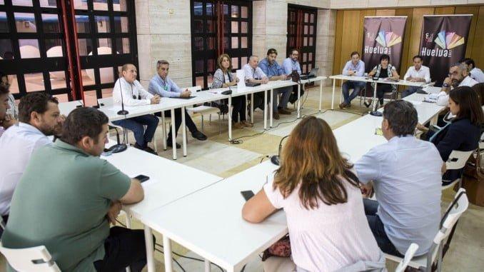 Reunión del Comité Consultivo de 'Huelva, Capital Española de la Gastronomía 2017'
