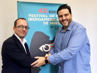 El director del Festival de Cine, Manuel H. Martín, y el presiente de la Fundación Prenauta, Xanty Elías