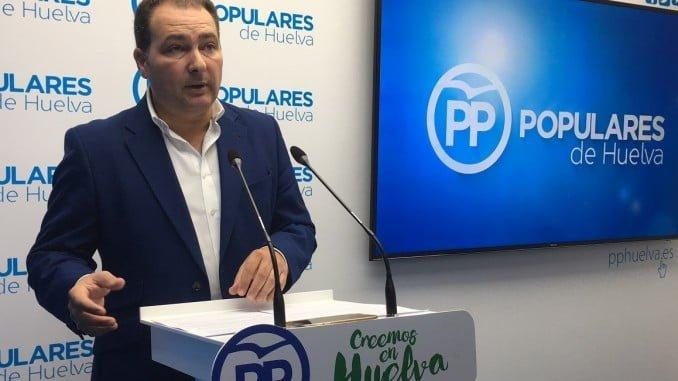 David Toscano pide a la alcaldesa de Aljaraque que se pronuncie sobre el caso de la moción de censura