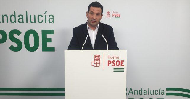 El secretario de Política Municipal del PSOE de Huelva, Ezequiel Ruiz