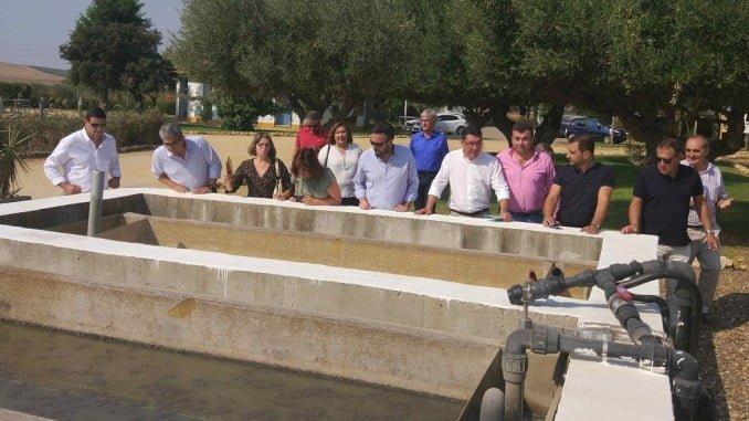 Alcaldes y representantes serranos visitan las instalaciones de la Fundación Centa