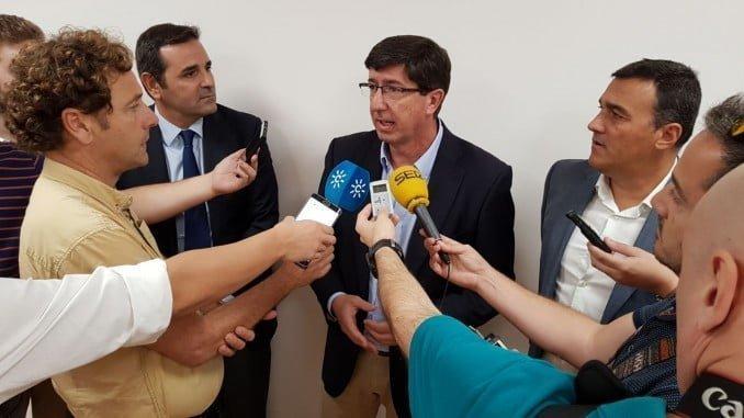 Juan Marín opina sobre la crisis catalana