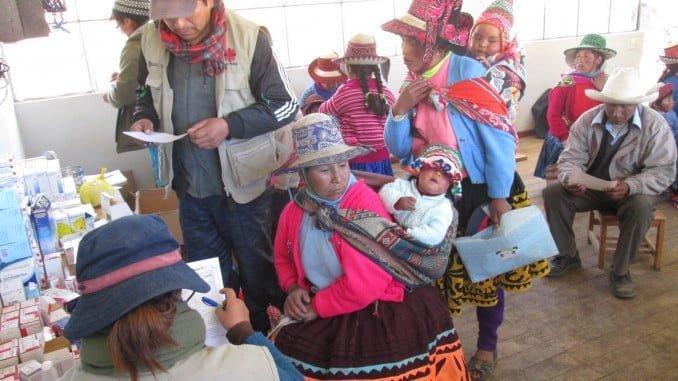 Madre Coraje se vuelca con las familias pobre de Perú