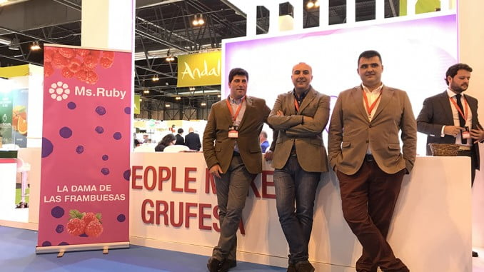 Grufesa presenta su nueva variedad de frambuesa en Fruit Attraction