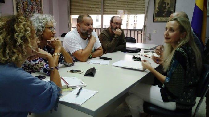 Reunión de IU y Equo Huelva