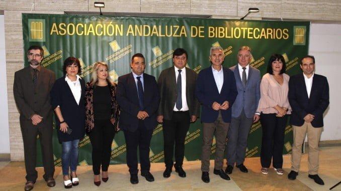 El consejero de Cultura y el alcalde de Huelva han inaugurado las Jornadas Bibliotecarias de Andalucía