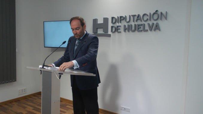 El nuevo portavoz del PSOE en la Diputación, José Fernández