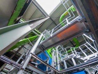La nueva línea de recuperación de vidrio en Villarrasa se pondrá en marcha próximamente