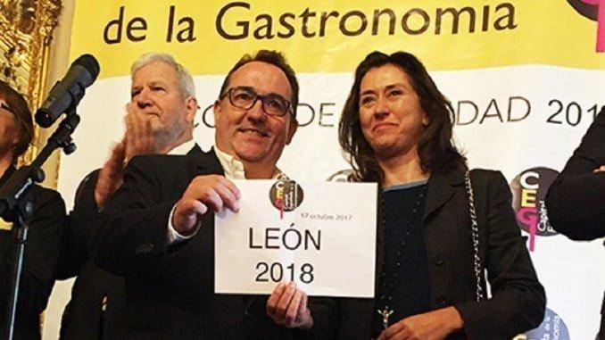 Momento en que se da a conocer la ciudad que sustituirá a Huelva como capital gastronómica