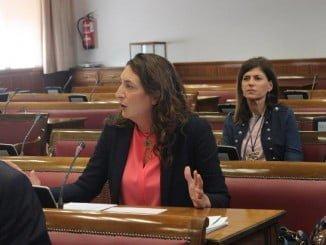 La senadora del PP por Huelva, Loles López, ha defendido la moción en la comisión de Medio Ambiente